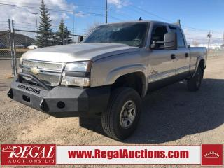 Used 2007 Chevrolet Silverado 2500 CLSC LT 4D CREW CAB 4WD for sale in Calgary, AB