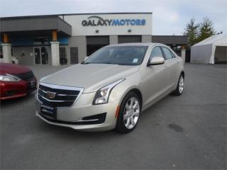 Used 2015 Cadillac ATS Sedan STANDARD- AWD, LEATHER, SUNROOF for sale in Duncan, BC