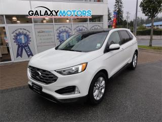 Used 2020 Ford Edge TITANIUM - Navigation, Heated/Cooled Seats, Panoramic Sunroof for sale in Nanaimo, BC