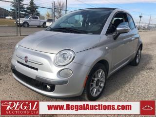 Used 2013 Fiat 500 Lounge 2D CABRIOLET for sale in Calgary, AB