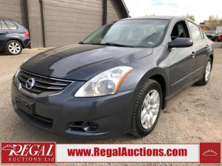 Used 2010 Nissan Altima S 4D Sedan for sale in Calgary, AB