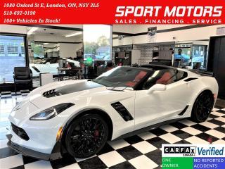 Used 2019 Chevrolet Corvette Z06 2LZ 6.2L V8 650 HorsePower+Ceramic Brakes for sale in London, ON