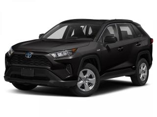 New 2021 Toyota RAV4 LE STANDARD PACKAGE W/CARGO LINER for sale in Winnipeg, MB