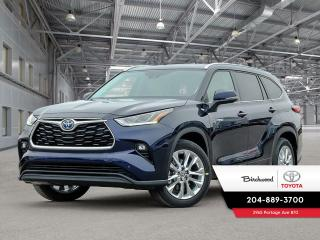 New 2021 Toyota Highlander Hybrid Limited STANDARD PACKAGE for sale in Winnipeg, MB