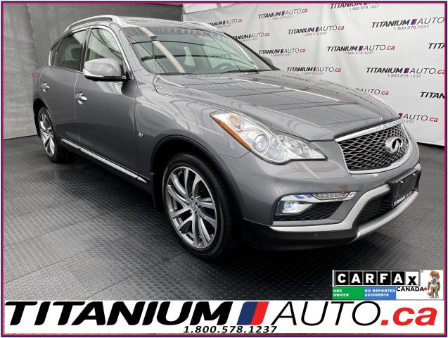 2017 Infiniti QX50 AWD+GPS+360 Camera+Bose Sound+HID & LED Lights+XM