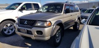 Used 2003 Mitsubishi Montero Sport LS for sale in Pickering, ON