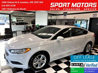 Used 2018 Ford Fusion SE TECH+ApplePlay+BlindSpot+LaneKeep+ACCIDENT FREE for sale in London, ON