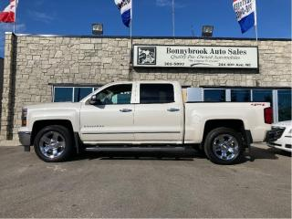 Used 2014 Chevrolet Silverado 1500 LTZ w/1LZ leather navigation car starter 4X4 for sale in Calgary, AB