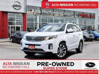 Used 2015 Kia Sorento SX V6   Leather   Navi   Rear Heated   Blind Spot for sale in Richmond Hill, ON