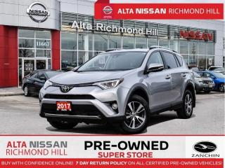 Used 2017 Toyota RAV4 XLE AWD   FOG Lights   17 Alloy   Sunroof   LDW for sale in Richmond Hill, ON