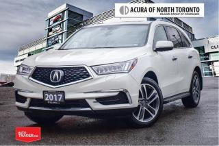 Used 2017 Acura MDX Navi No Accident| Premium Running Board|Remote Sta for sale in Thornhill, ON