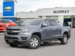 New 2021 Chevrolet Colorado 4WD Work Truck for sale in Winnipeg, MB