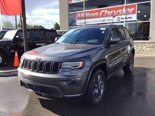 New 2021 Jeep Grand Cherokee 80TH ANNIVERSARY / TOW PKG / PANO ROOF for sale in Milton, ON