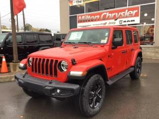 New 2021 Jeep Wrangler UNLIMITED SAHARA 4X4 / NAV / 2 TOPS for sale in Milton, ON