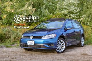 Used 2019 Volkswagen Golf Sportwagen Highline | MANUAL, App-Connect, Fender Audio for sale in Guelph, ON