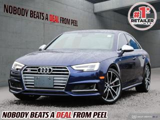 Used 2018 Audi S4 3.0 TFSI quattro Technik tiptronic for sale in Mississauga, ON