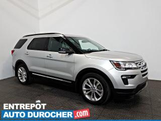 Used 2018 Ford Explorer XLT AWD A/C - Caméra de Recul - 6 Passagers for sale in Laval, QC