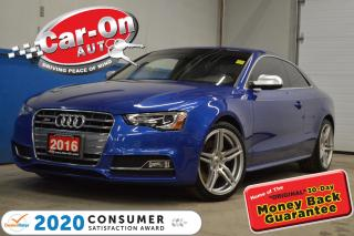 Used 2016 Audi S5 333HP 6 SPEED MANUAL for sale in Ottawa, ON