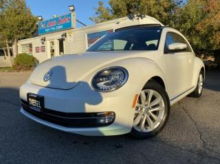 Used 2015 Volkswagen Beetle 2dr Cpe 2.0L TDI Man Comfortline ACCIDENT FREE MINT CONDITI for sale in Brampton, ON