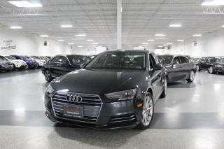 Used 2017 Audi A4 LEATHER I NAVIGATION I SUNROOF I HEATED SEATS I BLUETOOTH for sale in Mississauga, ON