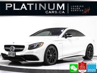 Used 2017 Mercedes-Benz S-Class AMG S63, COUPE, 577HP, SWAROVSKI, DISTRONIC, HUD for sale in Toronto, ON