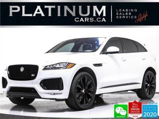 Used 2017 Jaguar F-PACE S, 380HP, AWD, NAV, PANO, CAM, HEATED STEERING for sale in Toronto, ON