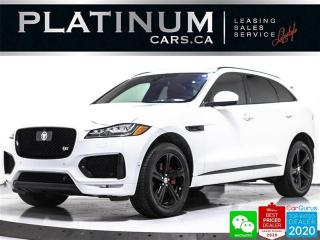 Used 2017 Jaguar F-PACE S, 380HP, NAV, PANO, CAM, MERIDIAN, HEATED for sale in Toronto, ON