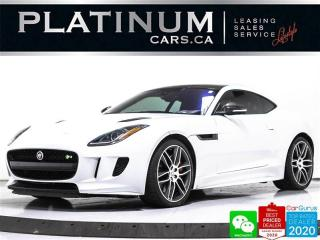 Used 2017 Jaguar F-Type R, 550HP, COUPE, AWD, CARBON, NAV, CAM, MERIDIAN for sale in Toronto, ON