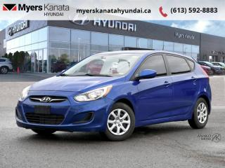 Used 2012 Hyundai Accent GL  - $77 B/W for sale in Kanata, ON