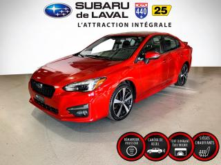 Used 2017 Subaru Impreza Sport-Tech Eyesight for sale in Laval, QC