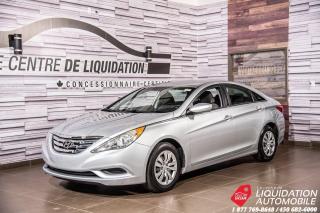 Used 2013 Hyundai Sonata GL+GR /ELECT+BLUETOOTH+SIEGE/CHAUFF for sale in Laval, QC