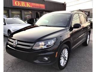 Used 2016 Volkswagen Tiguan 4MOTION-Comfortline-TOIT PANORAMIQUE-CAMERA RECUL for sale in Laval, QC