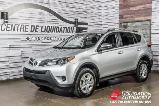 Used 2015 Toyota RAV4 LE+CAM/RECUL+SIEGE/CHAUFF+BLUETOOTH for sale in Laval, QC