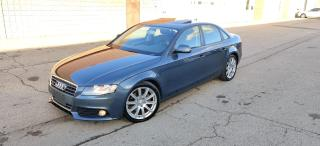 Used 2009 Audi A4 ONE OWNER | NO ACCIDENTS | CERTIFIED for sale in Burlington, ON