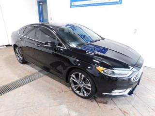 Used 2018 Ford Fusion TITANIUM AWD LEATHER SUNROOF for sale in Listowel, ON