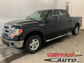 Used 2013 Ford F-150 XLT V8 4x4 CREW CAB Mags Caméra Marche pieds for sale in Shawinigan, QC