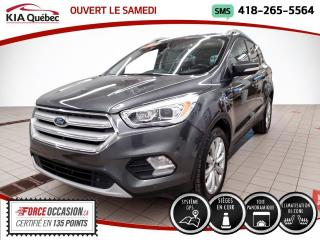 Used 2017 Ford Escape TITANIUM* AWD* 2.0L* GPS* TOIT PANO* CUI for sale in Québec, QC