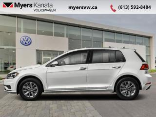 Used 2018 Volkswagen Golf Trendline 3-door   - Low Mileage, Car comes with winter tires on steel wheels for sale in Kanata, ON