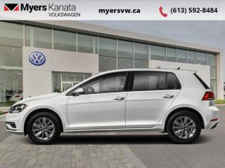 Used 2018 Volkswagen Golf Trendline 3-door   - Low Mileage, Car comes with winter tires on steel wheels for sale in Kanata, ON