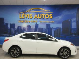 Used 2014 Toyota Corolla S MANUEL TOIT OUVRANT CUIR AIR CLIMATISE for sale in Lévis, QC