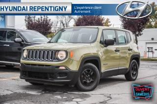 Used 2015 Jeep Renegade FWD Sport KAKI**A/C, BLUETOOTH** for sale in Repentigny, QC