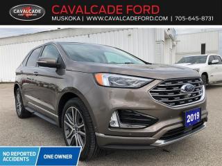 Used 2019 Ford Edge Titanium for sale in Bracebridge, ON