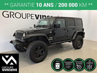 Used 2012 Jeep Wrangler UNLIMITED SPORT 4X4 ** GARANTIE 10 ANS ** Pour les amateurs de sports/plein air! for sale in Shawinigan, QC