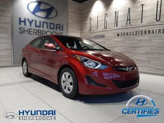 Used 2016 Hyundai Elantra LE AUTOMATIQUE AIR CLIM GRP ÉLECTRIQUE for sale in Sherbrooke, QC