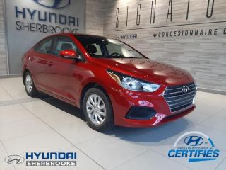 Used 2019 Hyundai Accent PREFERRED+CAMERA+BANCS CHAUF+BLUETOOTH for sale in Sherbrooke, QC