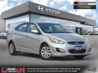 Used 2016 Hyundai Accent GLS  - Sunroof -  Bluetooth - $92 B/W for sale in Nepean, ON