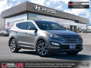 Used 2013 Hyundai Santa Fe SE  - Sunroof -  Leather Seats - $152 B/W for sale in Nepean, ON