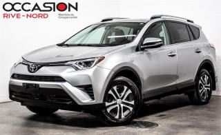 Used 2017 Toyota RAV4 LE AWD BLUETOOTH+CAM.RECUL+SIEGES.CHAUFFANTS for sale in Boisbriand, QC