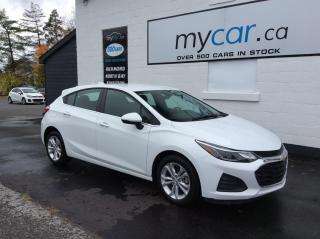 Used 2019 Chevrolet Cruze LT HEATED PWR SEAT, ALLOYS, BACKUP CAM, BLUETOOTH!! for sale in Richmond, ON