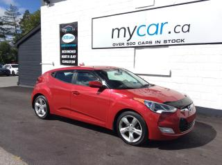 Used 2015 Hyundai Veloster HEATED SEATS, ALLOYS, BACKUP CAM!! for sale in North Bay, ON